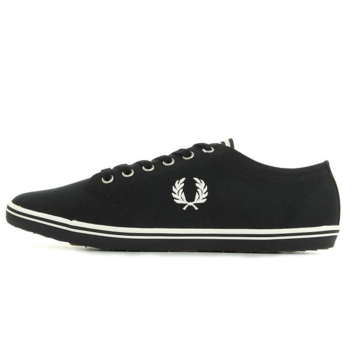 Baskets Fred Perry Kingston Twill Black