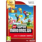 JEUX WII New Super Mario Bros Selects Jeu Wii
