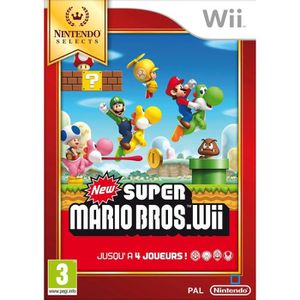 JEU WII New Super Mario Bros Selects Jeu Wii