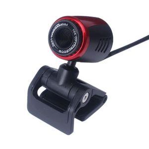 WEBCAM USB 2.0 Caméra Webcam HD Webcam avec micro pour or