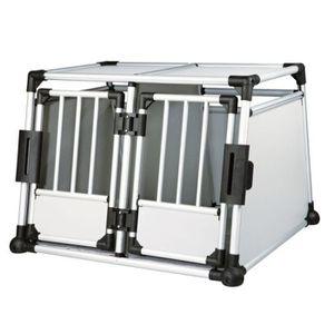CAISSE DE TRANSPORT Cage de transport double Trixie pour chien taille