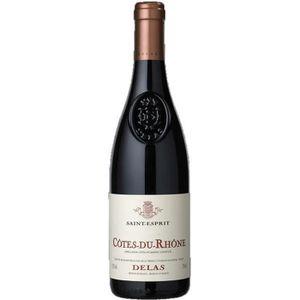 VIN ROUGE Côtes du Rhône Saint Esprit vin rouge 6x75cl Delas