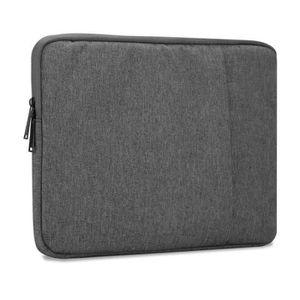HOUSSE PC PORTABLE Cadorabo Coque Portable 15.6'' Pouces in GRIS FONC