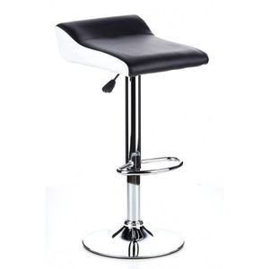 tabouret de bar blanc noir achat vente tabouret de bar blanc noir pas cher cdiscount. Black Bedroom Furniture Sets. Home Design Ideas
