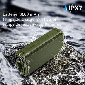 ENCEINTE NOMADE Enceinte Bluetooth sans fil portable, étanche Ipx7