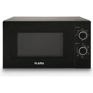 MICRO-ONDES Micro ondes avec option Grill 20 L 700W Noir - Dim