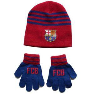 BONNET - CAGOULE bonnet gant enfant FC Barcelone Barça Messi Suarez