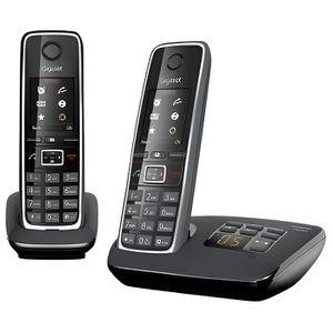 Téléphone fixe Gigaset C530A Duo Téléphone sans fil système de ré