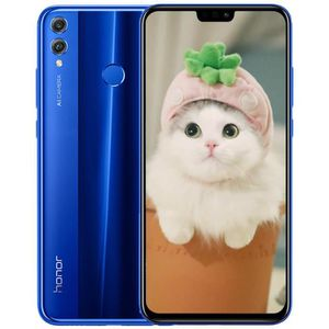 SMARTPHONE HONOR 8X 64 Go Bleu Global Version 6,5 Pouces 2340