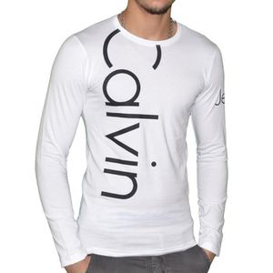 tee shirt manche longue homme calvin klein achat vente tee shirt manche longue homme calvin. Black Bedroom Furniture Sets. Home Design Ideas