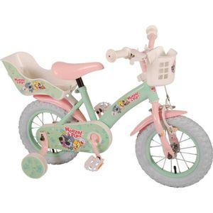 VÉLO ENFANT Vélo Enfant Fille Woezel & Pip 12 Pouces Frein Ava