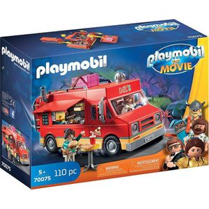 UNIVERS MINIATURE PLAYMOBIL 70075 - PLAYMOBIL THE MOVIE Food Truck d