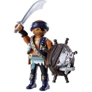 FIGURINE - PERSONNAGE PLAYMOBIL 9075 Pirate avec bouclier