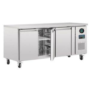 ARMOIRE A BOISSON Table réfrigérée négative 417 L 3 portes sur roule