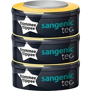 RECHARGE POUBELLE SANGENIC-Sangenic recharges tec x3 TOMMEE TIPPEE