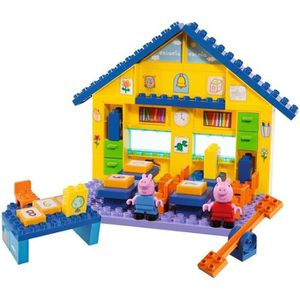 ASSEMBLAGE CONSTRUCTION PEPPA PIG l' Ecole