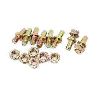 M6x18mm zingué vis à vis dans l/'écrou à insert fileté 20pcs pour bois