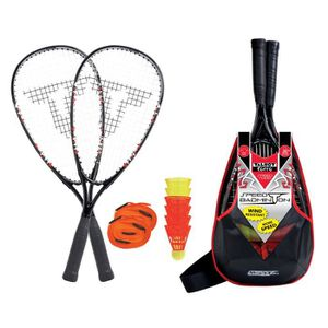 KIT BADMINTON TALBOT TORRO Set de Badminton Speed 7000 - 2 raque