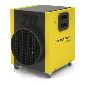 RADIATEUR D'APPOINT Chauffage électrique de chantier Trotec TEH 70