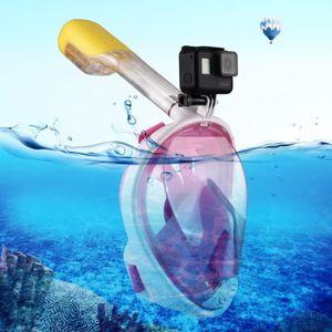 MASQUE DE PLONGÉE Masque de plongée GoPro 220mm Tube Sports nautique