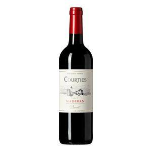VIN ROUGE Courties 2015 Madiran - Vin rouge du Sud-Ouest x1