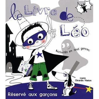 LIVRE JEUX ACTIVITÉS Le Livre de Léo
