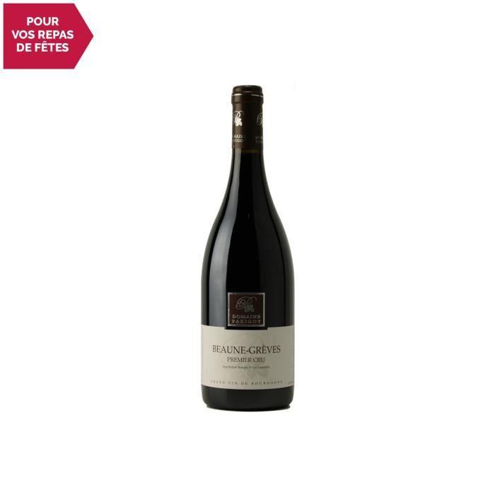 Beaune premier cru Les Grèves Rouge 2017 - 75cl - Domaine Parigot Père et Fils - Vin AOC Rouge de Bourgogne - Cépage Pinot Noir