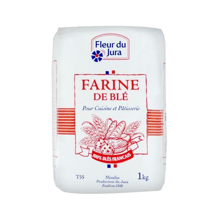Farine de blé Fleur du Jura - 1 kg