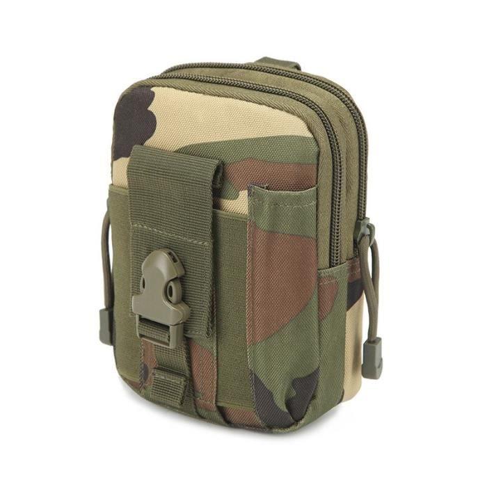 Jungle -Sac de ceinture tactique Molle pour hommes, sac de ceinture, militaire, Camping, escalade, course à pied, chasse, petits sac