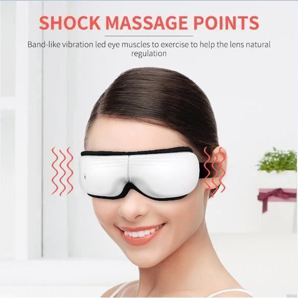 Masseur pour les yeux Bien-êtreMassage Type de composé High-tech Micro-ordinateur Anti-rides Anti-âge Appareil de Massage