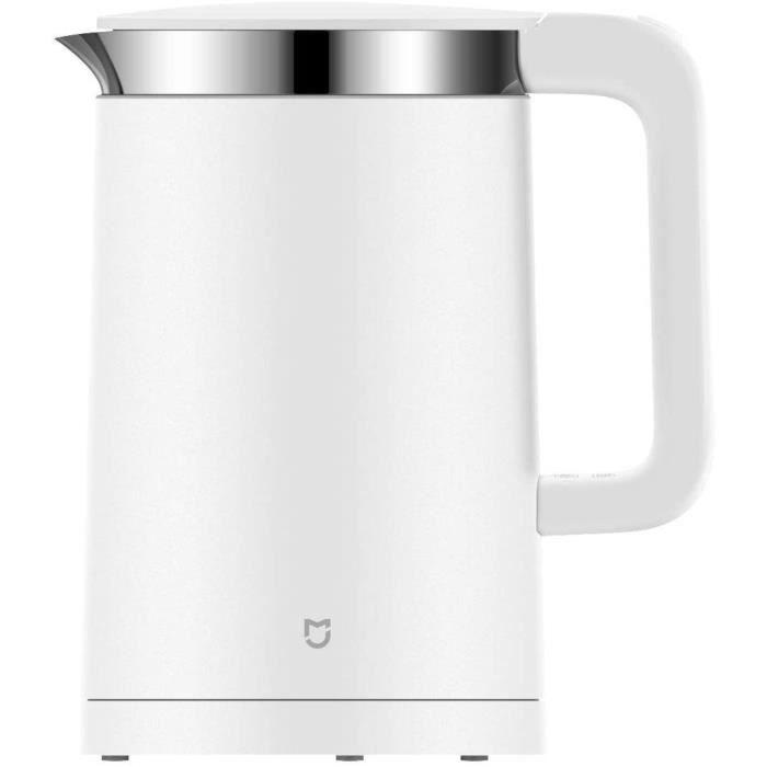 Xiaomi YM-K1501 MI Smart Electric Kettle/bouilloire électrique intelligente, 1800 W, 1.5 liters, Weiß [Classe énergétique A++]