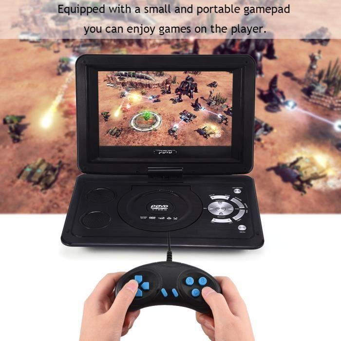 13.9 pouces HD TV Portable Lecteur DVD 800 * 480 Résolution 16: 9 Écran LCD 110-240 V