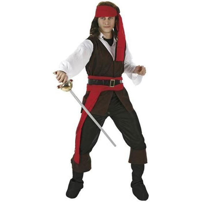 ATOSA - Déguisement Pirate Adulte - Homme - Carnaval