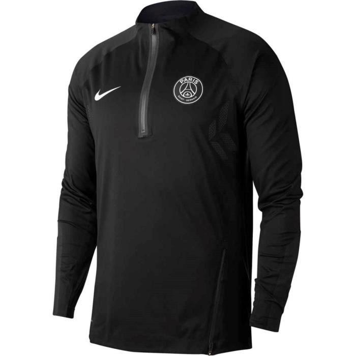 Maillot de football Nike AeroShield Paris Saint-Germain Strike Drill - Ref. 941646-010
