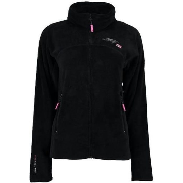 Polaire Femme Geographical Norway Upaline Noir