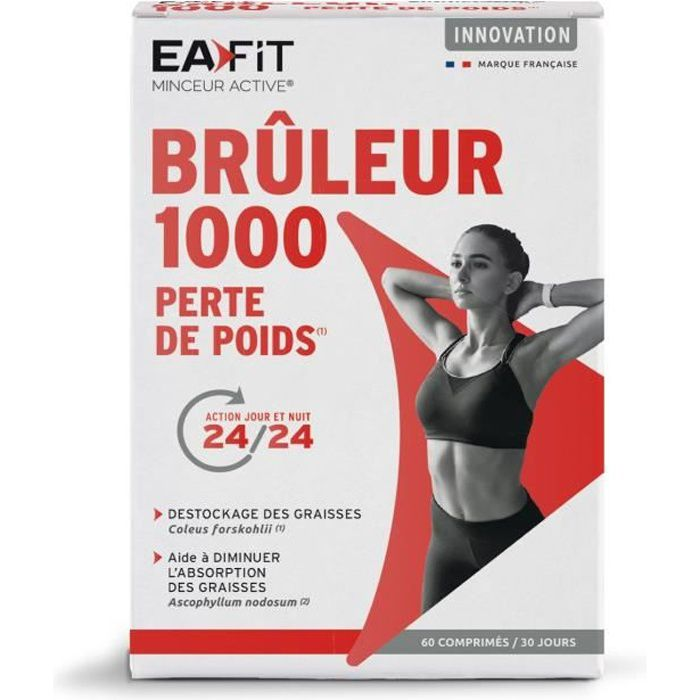 EAFIT Brûleur 1000 - 60 comprimés