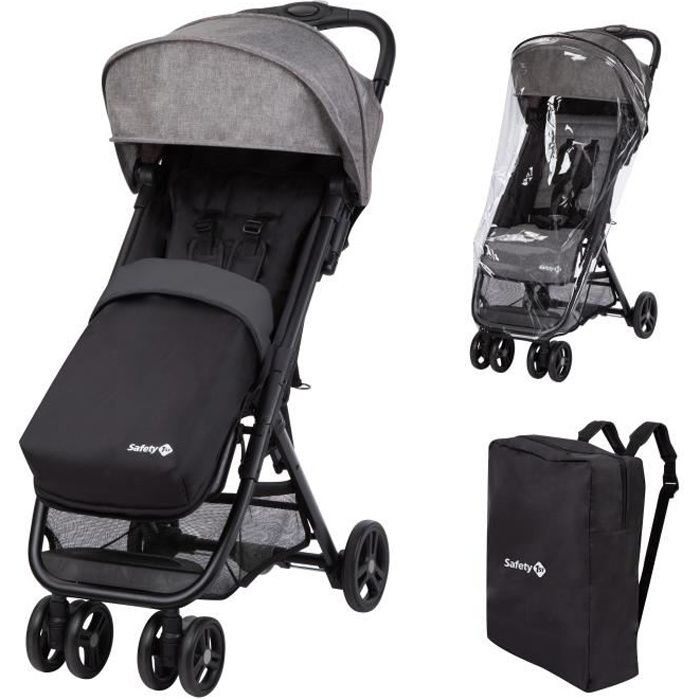 SAFETY FIRST Poussette Teeny Comfort - Pack Black Chic