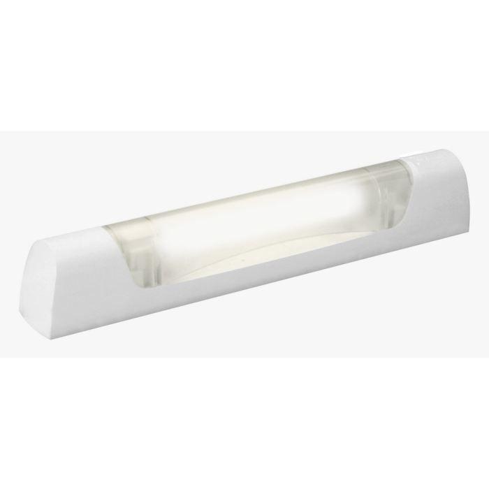 Applique salle de bain avec lampe halogène Prismaline, interrupteur et Prise 2P+T