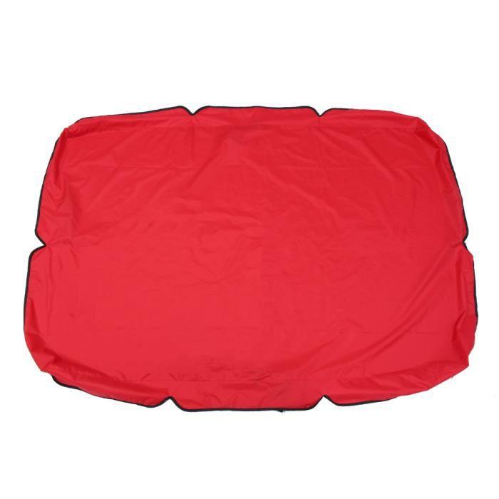 Royal Couverture Canopée pour Balancelle - 167.5x114x15cm Rouge