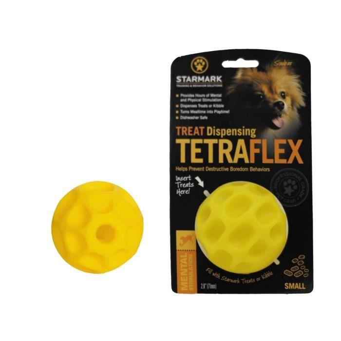EVERLASTING Jouet pour chien Treat Tetraflex S 11 x 7 x 18cm