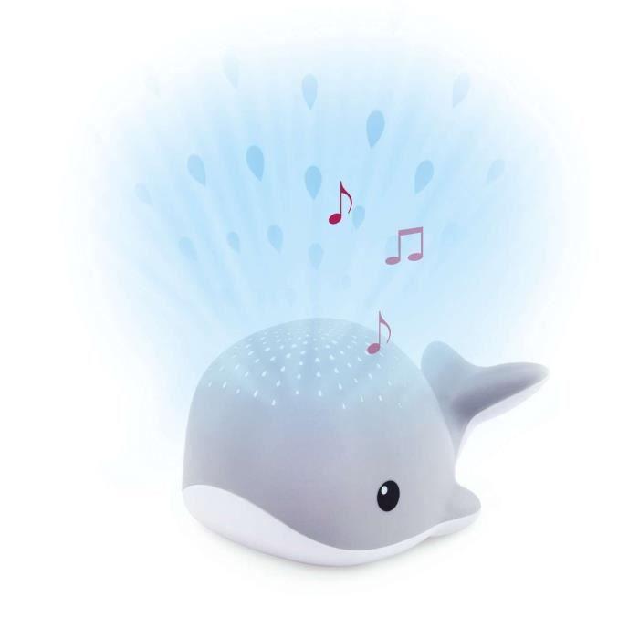 ZAZU Baleine lumineuse - gris