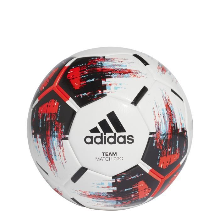 BALLON DE FOOTBALL ADIDAS Ballon Team Match Pro Matchball Blanc Rouge