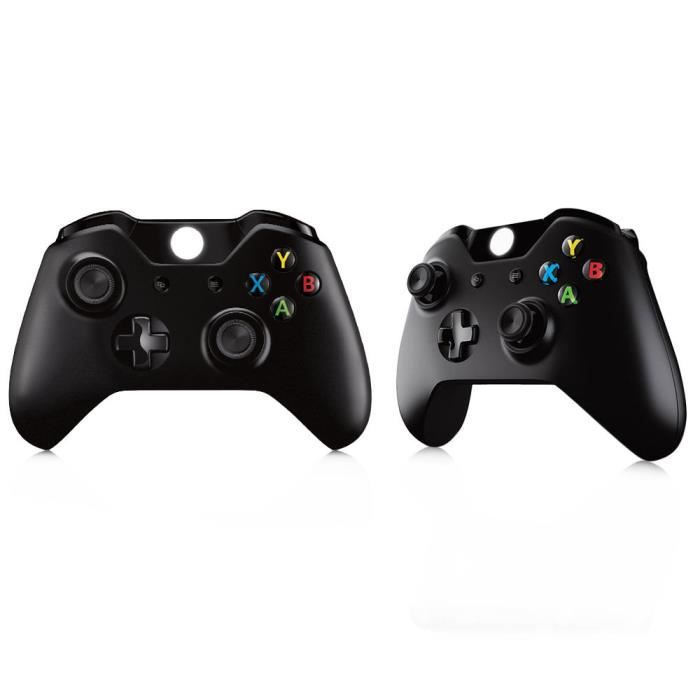manette sans fil xbox one contr leur wireless noir avis test cdiscount. Black Bedroom Furniture Sets. Home Design Ideas