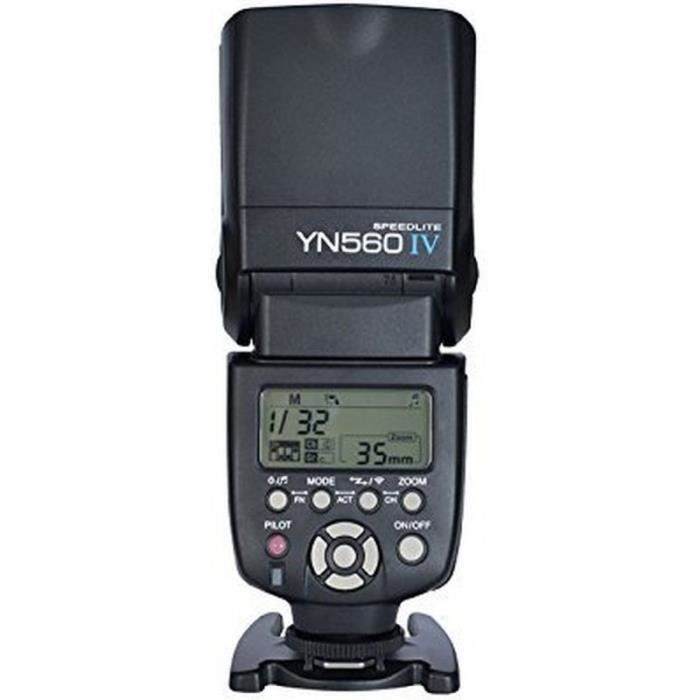 Flash yongnuo speedlite yn560 iv achat vente flash - Ventes flash cdiscount ...