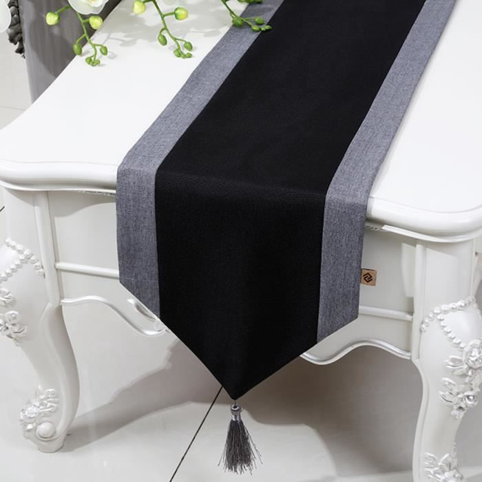Chemin de table linge de table nappe soie qualit art - Linge de table raffine ...