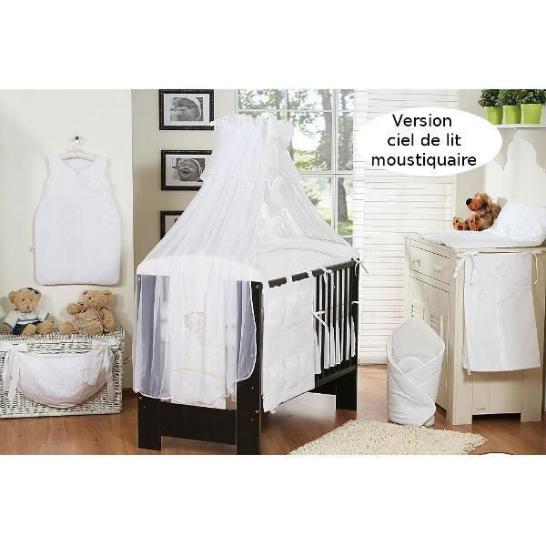 ciel de lit bebe blanc maison design. Black Bedroom Furniture Sets. Home Design Ideas