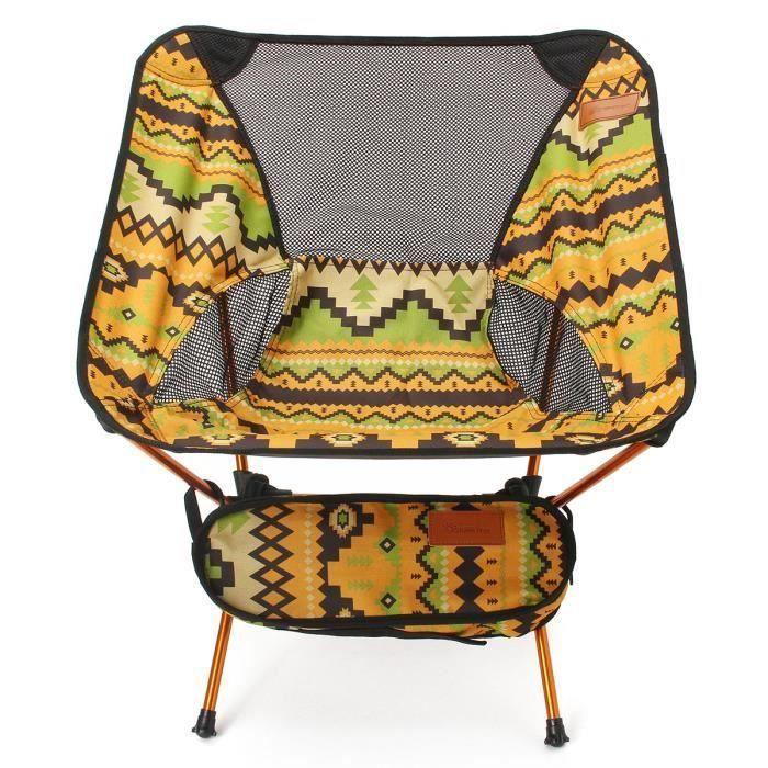 CHAISE DE CAMPING ss-33-TEMPSA Chaise de jardin portable professionn