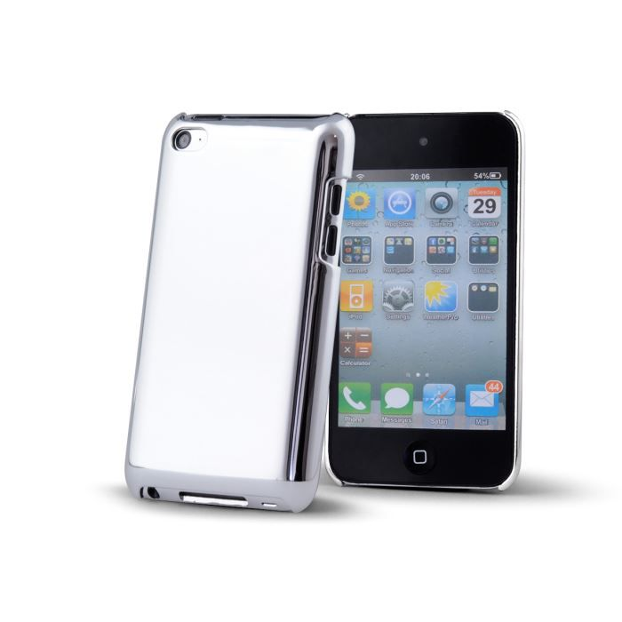 coque ipod touch 4 chrome case argent achat coque mp3. Black Bedroom Furniture Sets. Home Design Ideas