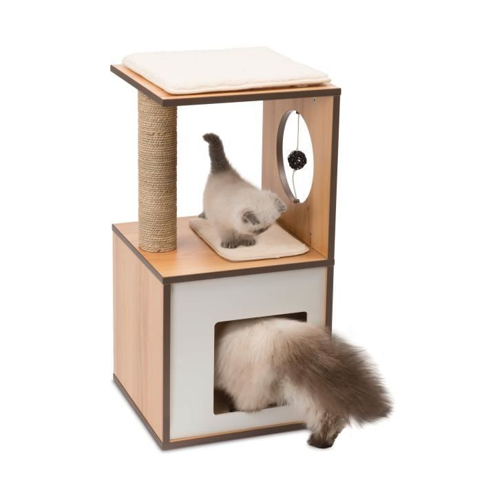 vesper arbre chat box s naturel achat vente arbre. Black Bedroom Furniture Sets. Home Design Ideas
