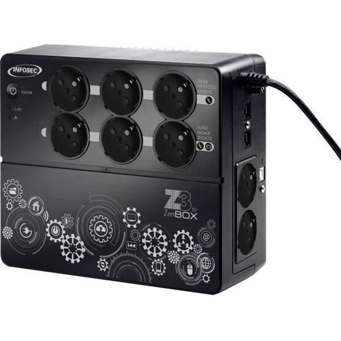 ONDULEUR INFOSEC Onduleur haute fréquence Z3 ZenBox EX 700